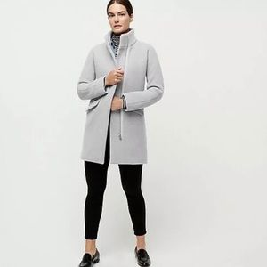 J.Crew Cocoon Coat Gray 00P